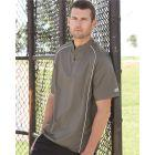 Rawlings 9702 - Short Sleeve Poly Dobby Quarter-Zip Pullover